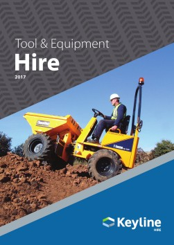 Keyline Tool & Equipment Hire 2017 brochure