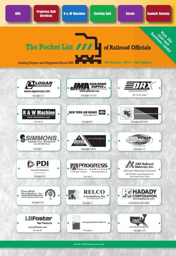 Pocket List of Railroad Officials