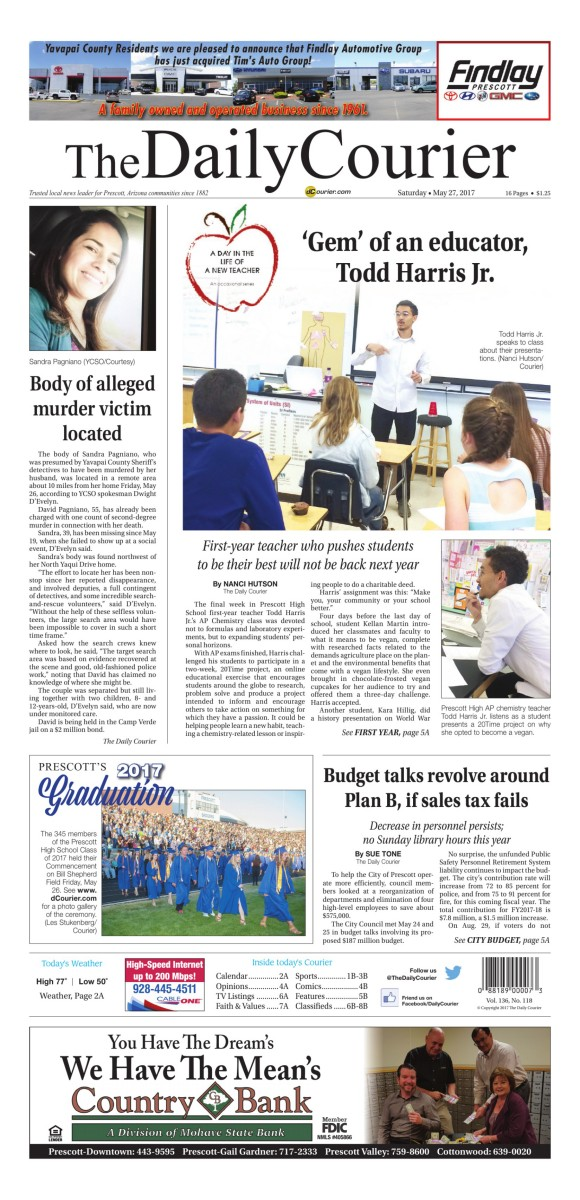Daily Courier Pages