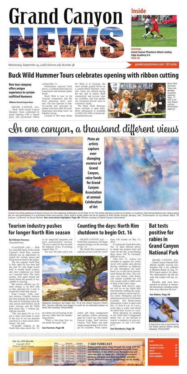 Grand Canyon News