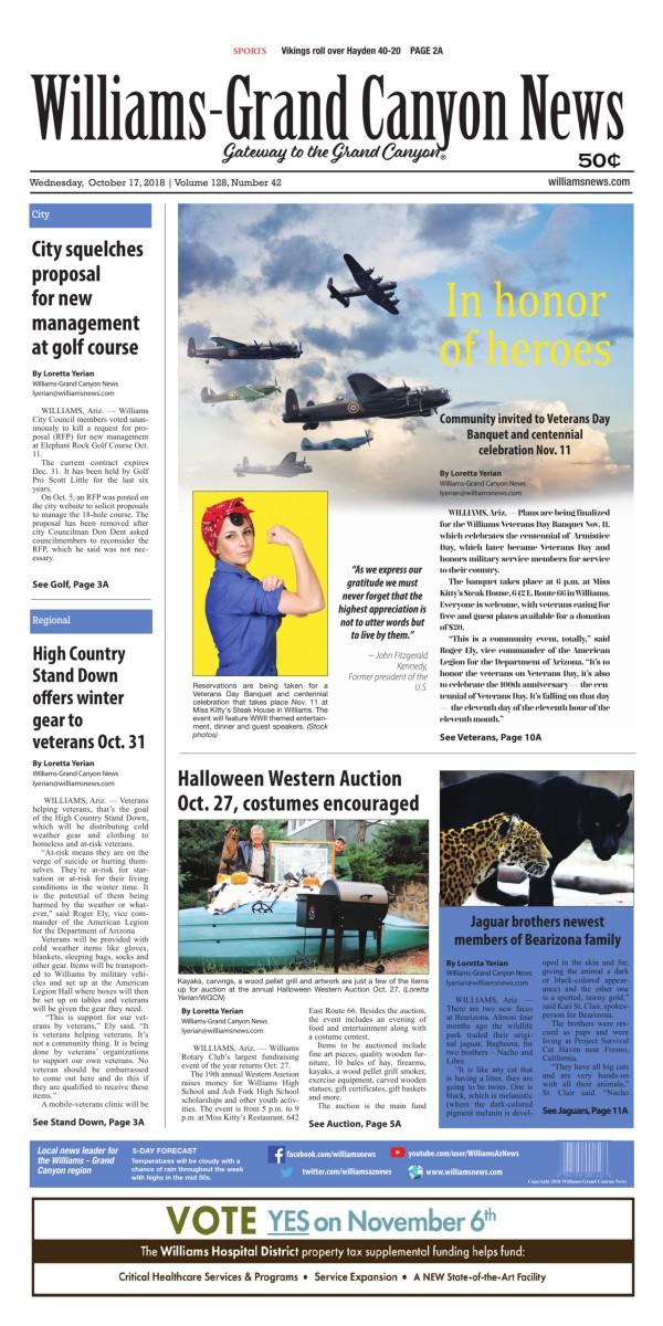 Williams News