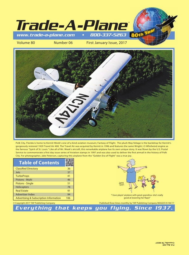 First January 2017 Digital Edition at Trade-A-Plane