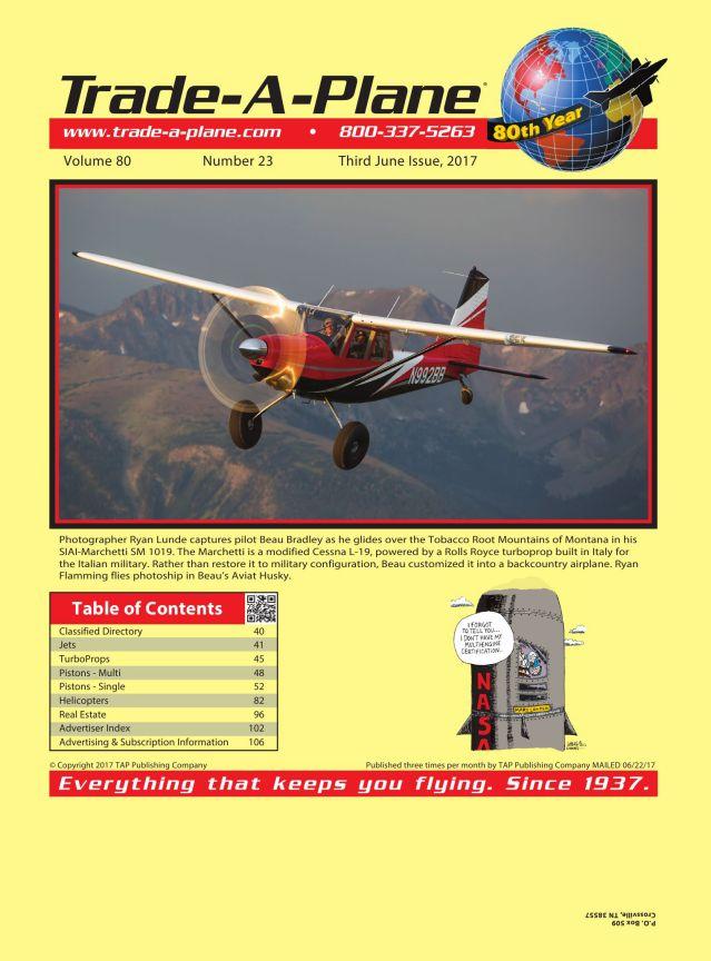 CI-505 Cessna T210H Comant Ind Coupler Antenna