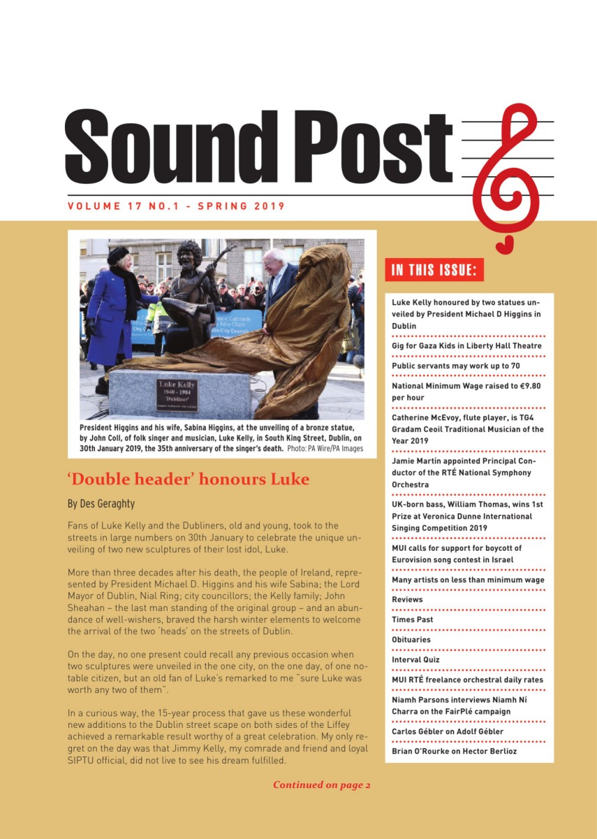 Read the Spring 2019 issue of SoundPost